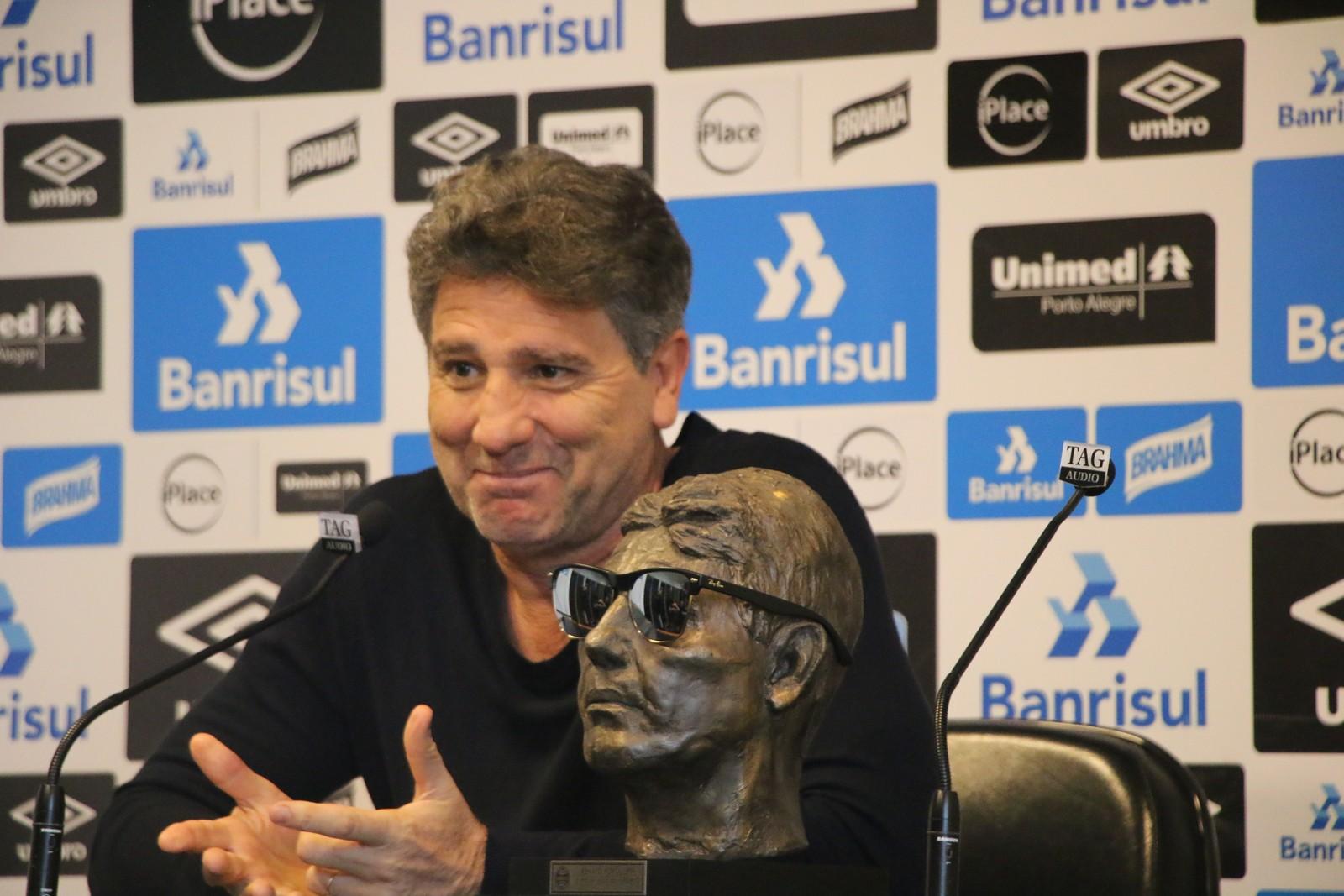 de767c0e80 Grêmio marca reunião no Conselho para discutir estátua de Renato ...